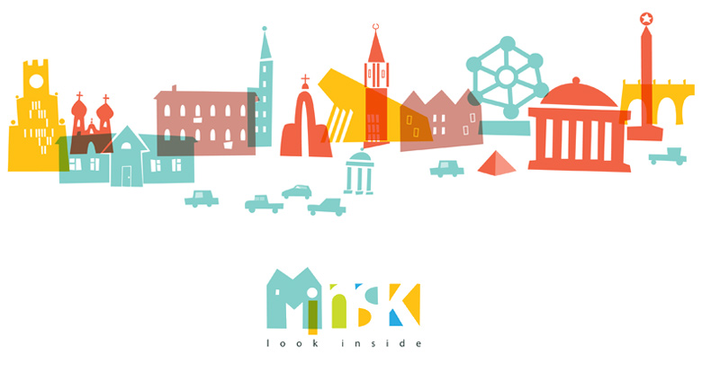 Minsk city identity