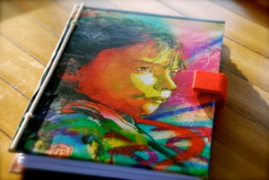 Illustration on the covers by C215