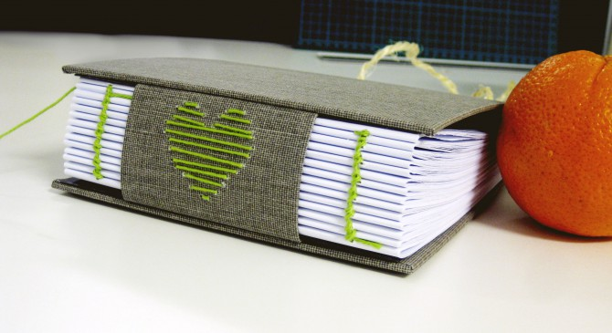 Short bookbinding project