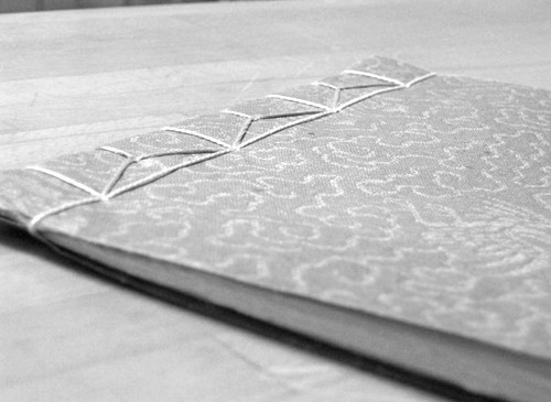 Traditional Japanese bookbinding technique